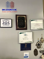 Wall of Certificates